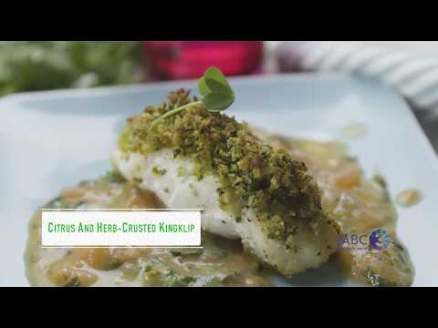Just Cooking - Citrus And Herb-crusted Kingklip