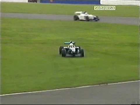 Several Formula Palmer Audi cars spin at Silverstone 2005
