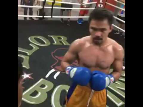 Manny Pacquiao Boxing Workout - Sept 13th | Pacquiao vs Vargas