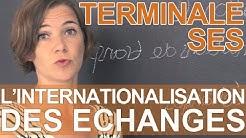 Comment expliquer l'internationalisation des échanges ? - SES - Terminale - Les Bons Profs