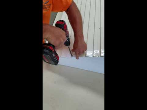 Aluminum awning box kit assembly by: Awning Hut An EAP Company!