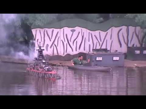 Naval Battle at Peasholm Park - Battle of the River Plate (ish)