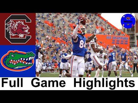 South Carolina Vs 3 Florida Highlights College Football Week 5 2020 College Football Highlights Youtube