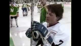 ET Tonight - NHL Celebrity Hockey (Michael J. Fox)