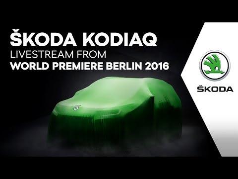 Premierenstimmung für alle: Weltpremiere des SKODA KODIAQ live im Internet