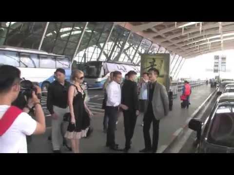 Paris Hilton In Shanghi China Mr. Pink