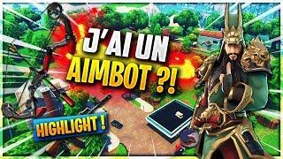 JE DÉTRUIS TILTED + AIMBOT ARC ?! - HIGHLIGHT - Fortnite Battle Royale 🔥