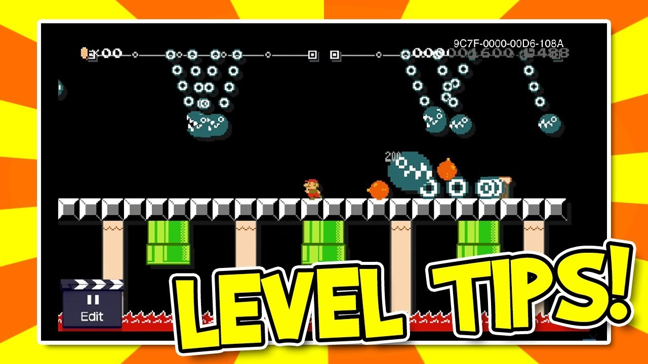 Super Mario Maker All Creating Items Landscapes Game