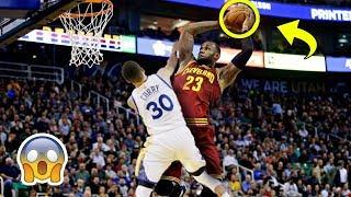 Poster Dunks On Stephen Curry (+Blocks)