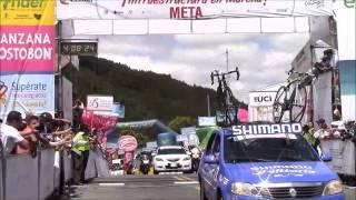 revista mundo ciclistico: Vuelta a Colombia ET10 Rivera ganó en Minas. Sevilla al acecho