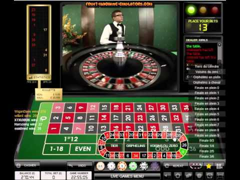 Video Live roulette online free play
