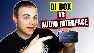Direct Box Guitar Recording Vs Audio Interface - Behringer DI400P
