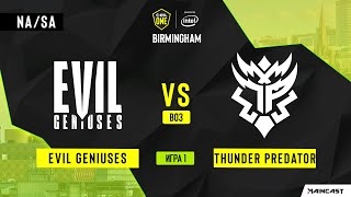 EG vs Thunder Predator (Игра 1) BO3 | ESL One Birmingham 2020 EU/CIS  by 1ceN1ce