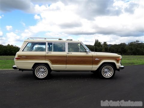 1985 Jeep Grand Wagoneer for Sale - YouTube