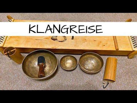 Klangreise/ Klangmeditation mit Klangschalen, Monochord und Klangspielen