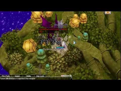 [Ragnarok Online] Dual Dagger GX vs Wandering Purple Dragon