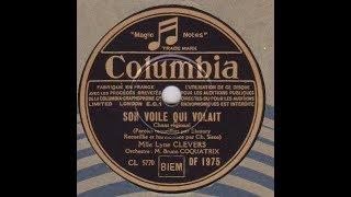 """Lyne Clevers """" son voile qui volait""""      1936"""