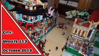 NINJAGO DISTRICT ENTSTEHT! | LEGO City Update #13 | Oct 2018 🐉 (deutsch m. englischen Untertiteln)