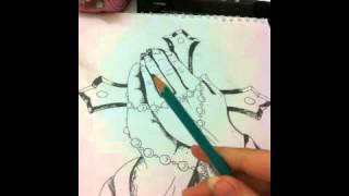 Video Maker: rosary drawing