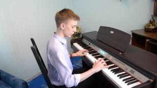 Клевая игра  на пианино из фильма сумерки!!!