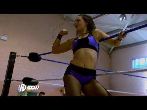 Womens Tag Team Wrestling // Kazza G & Valkyrie V Katey Harvey & Raven