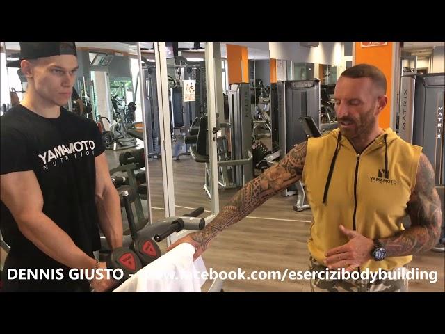 Mens Physique Workouts - Deltoidi - Delts - Dennis Giusto coach and Marc Coppola IFBB Athlete