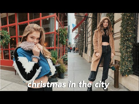spending christmas in New York City