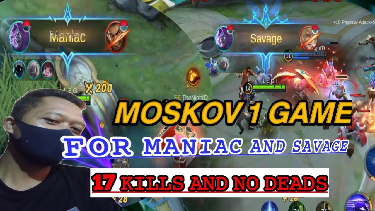 Download Moskov savage 17 kills no deads