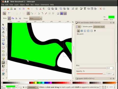 V deotutorial colorear dibujos vectoriales con el - Programa para decorar ...