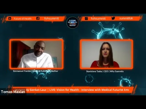 Interview with Medical Futurist & Bestselling Author, Emmanuel Fombu