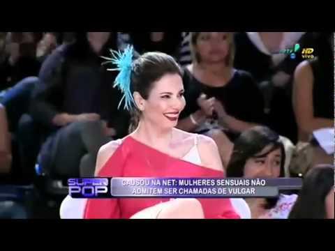 Mulher Maçã  dá um show de burrice na tv ao falar de