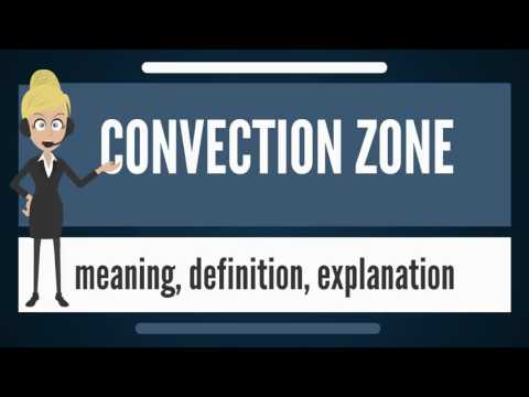 What is CONVECTION ZONE? What does CONVECTION ZONE mean? CONVECTION ZONE meaning & explanation