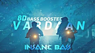 VARDAAN Bass Boosted || CARRYMINATI New Song || VARDAAN Bass Boosted Song