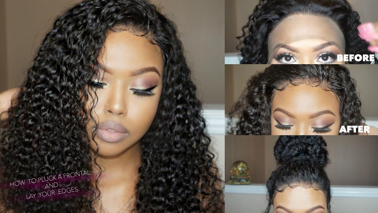 how to make a lace front look natural