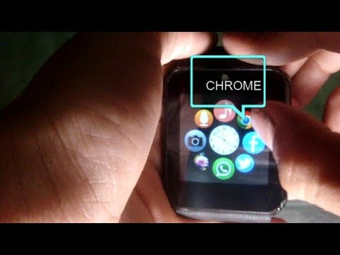 test chrome smartwatch gt08 2018 full hd youtube. Black Bedroom Furniture Sets. Home Design Ideas
