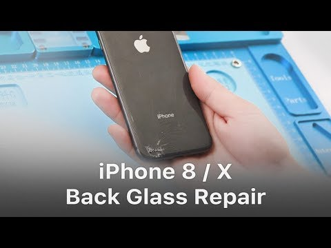 Quick Solution – iPhone 8/X Broken Back Glass Repair