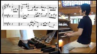 Bach, BWV 601, Herr Christ, der ein'ge Gottes-Sohn (sheet music) バッハ, 神のひとり子なる主キリスト(楽譜付)
