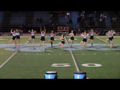 Virginia's Centreville High School Wildcat dance team