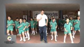 Coreografía intento de guinness record de actividad física en colegios de colombia PARTE 01_1.flv