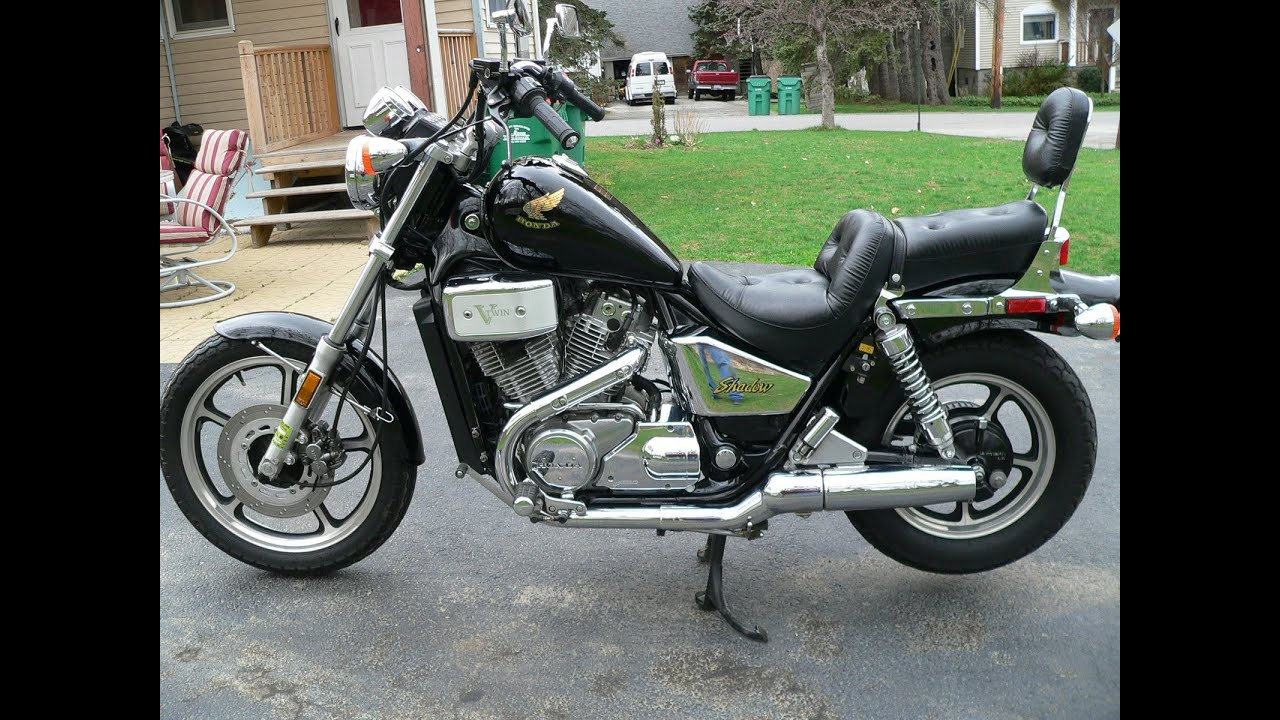 Marvelous Honda Shadow Craigslist #6: 1986 Honda Shadow VT700C - YouTube