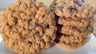 How To Bake Oatmeal Raisin Cookies-Food Recipes