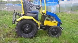 Как сделать самодельный трактор(Делаем миники не хуже китайских., 2017-01-29T20:07:11.000Z)