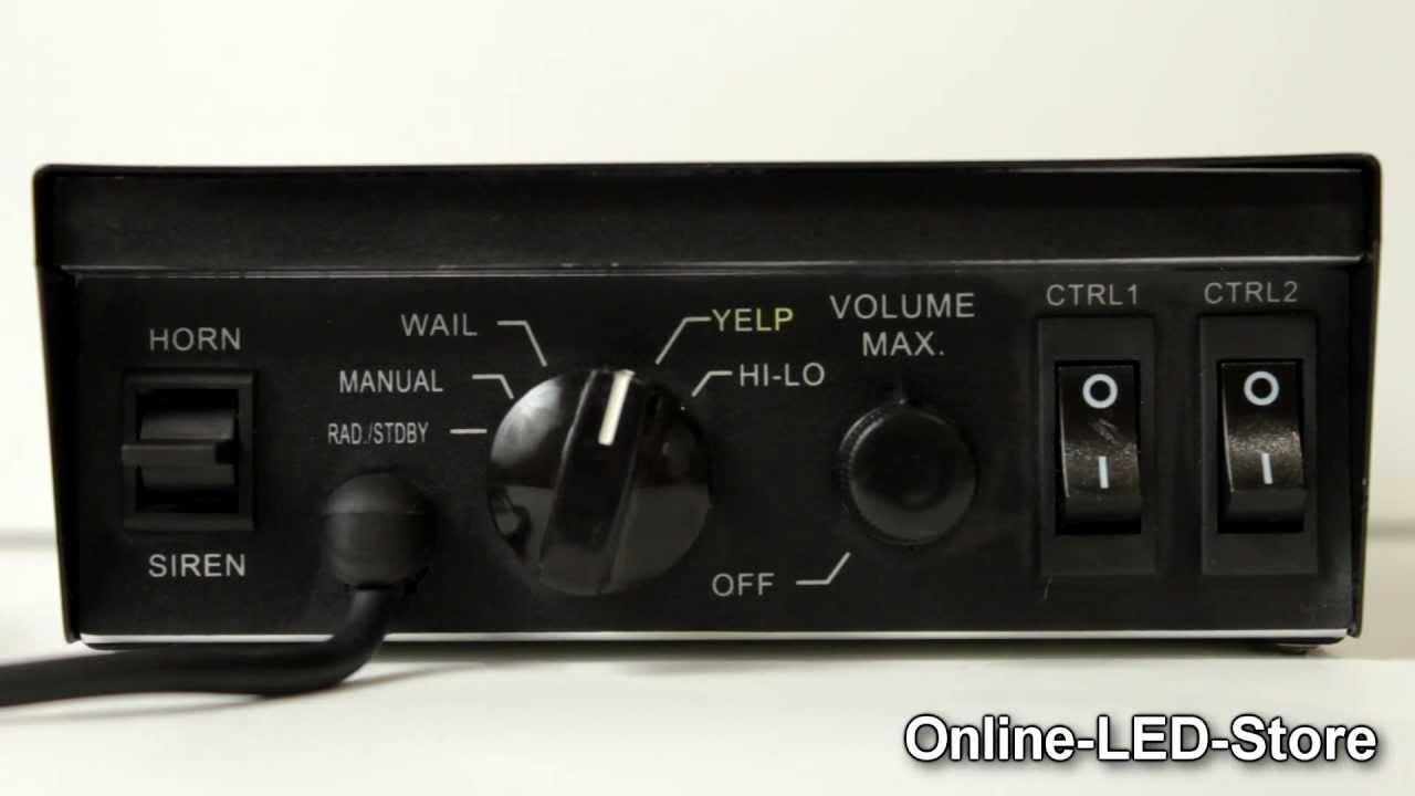 Lamphus Soundalert 100w Pa System Light Control Switches