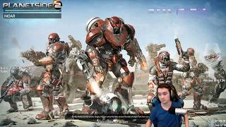 Planetside 2 - Commentary & Live Gameplay [2018]