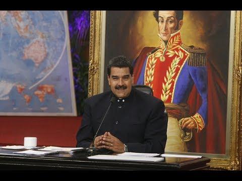 Rueda de prensa completa de Nicolás Maduro con medios internacionales, 17 octubre 2017
