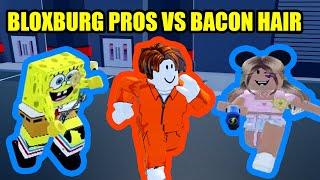 Can BLOXBURG PROS ARREST a BACON HAIR? Roblox Jailbreak
