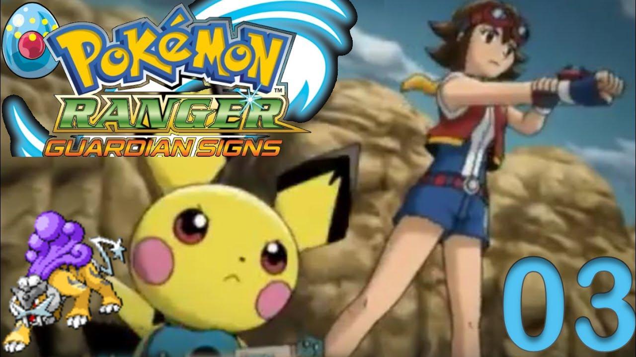 Pokemon Ranger Guardian Signs: RAIKOU likes monuments - Episode 3