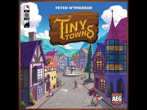 Playthrough - Tiny Towns From AEG