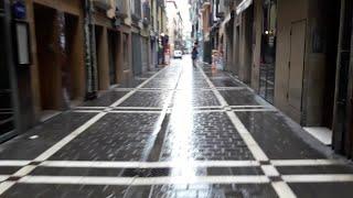Comercios y bares cerrados en Pamplona, salvo los autorizados