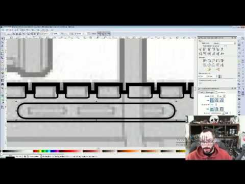 Halo 4 Sniper Rifle - Blueprint Drawing - 4/27/2013